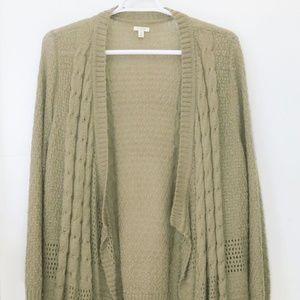 Sonoma Women's  Open Cardigan Sweater Size 2X